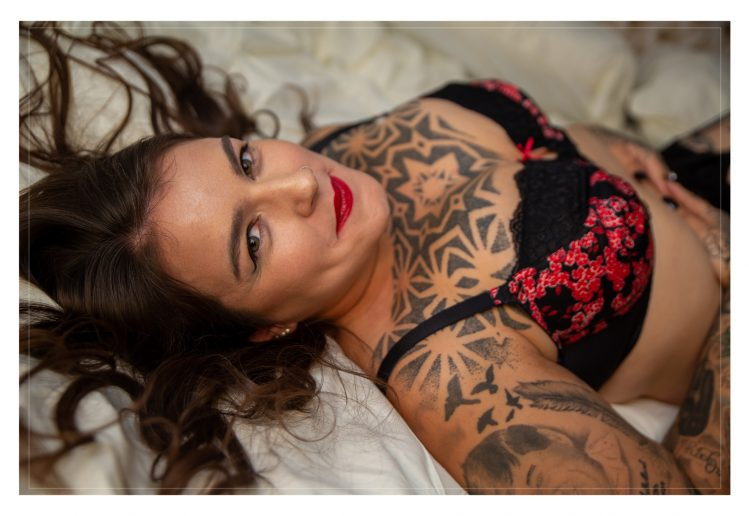 Boudoir Photography in Brigg near Scunthorpe